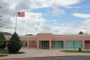Front View of Enterprise Elementary